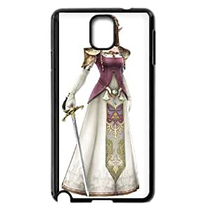 Samsung Galaxy Note 3 Cell Phone Case Black Super Smash Bros Princess Zelda Dinxi