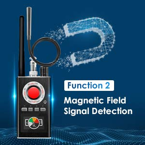 Anti Spy RF Detector Upgraded Version Hidden Camera Detectors Camera Finder Radio Scanner for GPS Tracker GSM Listening Device Anti Spy RF Signal Wireless Laser Lens Camera Finder Version of K88