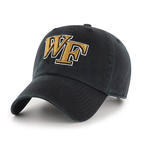 NCAA Wake Forest Demon Deacons OTS Challenger Adjustable Hat, Black, One Size