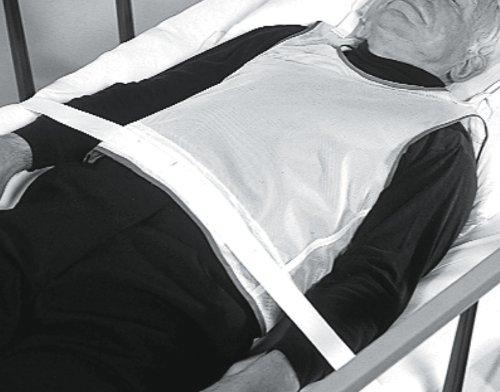 Medline MDT828000 Tie-Back Patient Safety Vest, Koolknit, Small (Pack of 6) by Medline