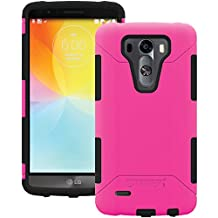 AFCTRIDENT Aegis Series Case for LG G3 - Retail Packaging - Pink