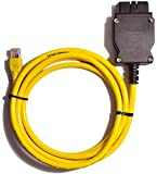 Bluechok New 2M Ethernet to OBD Interface Cable E-SYS ICOM Coding F-Series for BMW ENET