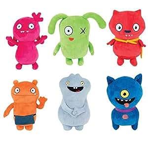 Amazon.com: UglyDolls Plush Stuffed Moxy OX Wage BABO ...