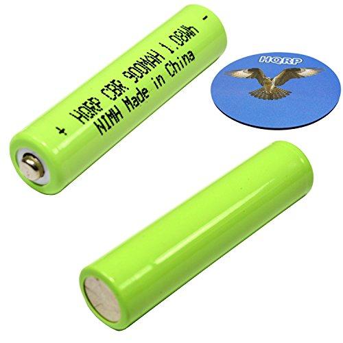 HQRP TWO Phone Batteries for Panasonic KX-TG9392T KX-TGA101S