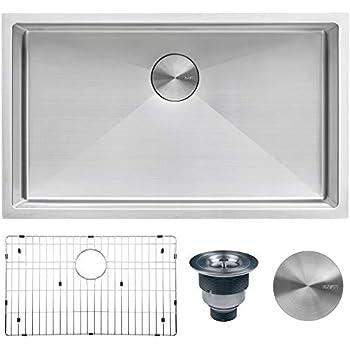 Cool Zuhne Verona 32 X 19 Inch Single Bowl Under Mount Reversible Interior Design Ideas Ghosoteloinfo