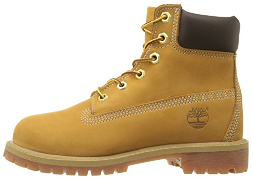 Marron Bottes Enfant Yellow Waterproof wheat Mixte Premium 6 In Timberland Bq0II