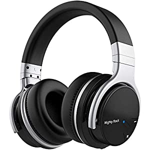 Meidong E7C Active Noise Cancelling Headphones Bluetooth Headphones Over Ear Wireless Headphones with Microphone Hi-Fi…