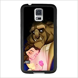 new style 43841 54175 Beauty and the Beast Samsung Galaxy S5 Case, Onelee [Never fade] Disney  Beauty and the Beast Samsung Galaxy S5 Black TPU and PC Case [Scratch  proof] ...