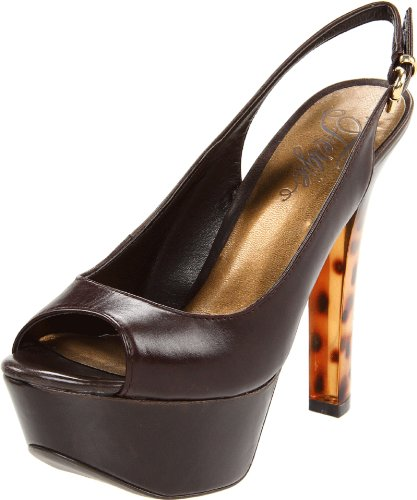 Pump Bizzare Brown Pump Fergie Fergie Slingback Womens Brown Womens Fergie Slingback Bizzare Womens APZ4dHWP