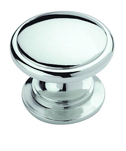 Allison Value 1-1/4 in (32 mm) Polished Chrome Cabinet Knob - 25 - Inch Chrome Cabinet 1.25