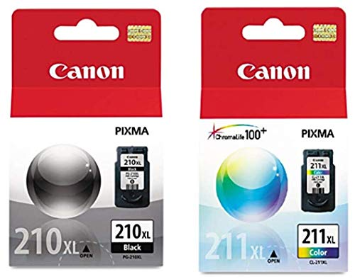 Canon PG-210XL/CL-211XL Extra High Yield Black and Color Ink Cartridge Set ()
