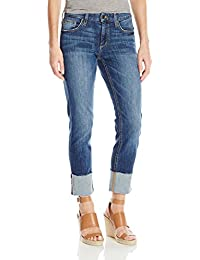 "Women's Smith Straight Midrise 4"" Cuff Crop Jean"