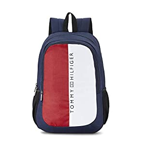 Tommy Hilfiger 19.53 Ltrs Navy Laptop Backpack (TH/BIKOL08HRP)