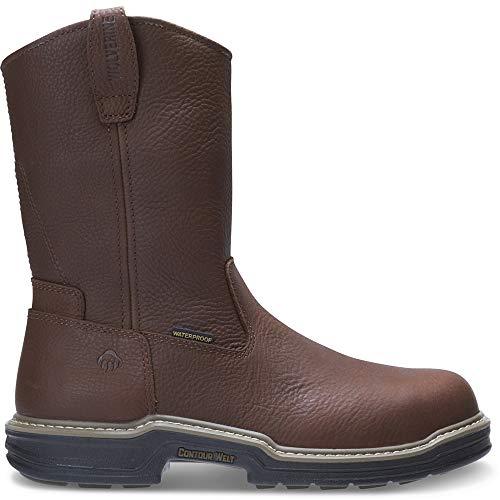 Wolverine Buccaneer Steel-Toe EH Waterproof Wellington Work Boot Men 12 Dark Brown