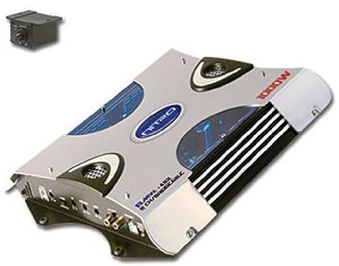 NEW NITRO BMW-482 1000W 2 Channel Car Amplifier Power Amp (Crossover 8 Ohm Speaker 2 Ohm)