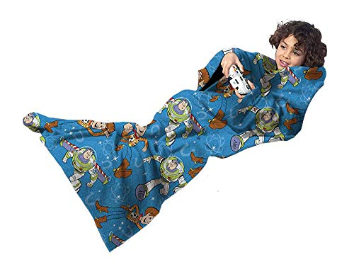 (Northwest Toy Story Star Defenders Comfy Throw Snuggler - The Blanket with Sleeves)