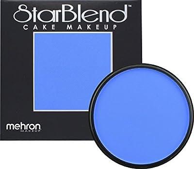 Mehron Makeup StarBlend Cake Makeup BLUE – 2oz