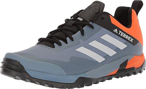 adidas outdoor Terrex Trail Cross SL Cycling Shoe - Men's Raw Steel/Grey One/Orange, - Cycling Shoes Adidas