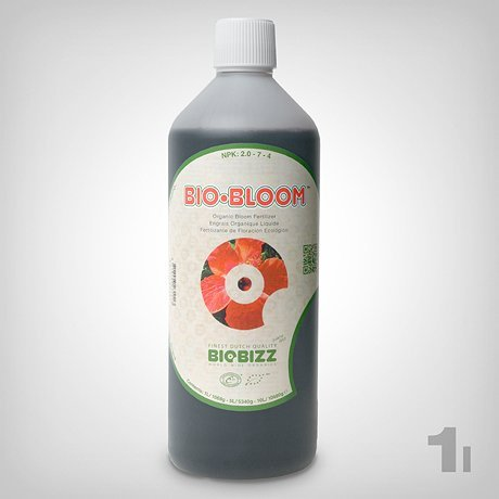Biobizz Bio Bloom, 1 L Grow abono para por ejemplo Grow en ...
