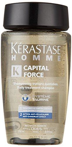 Kerastase Paris Capital Force анти-перхоти Влияние Мужская Шампунь - 250мл