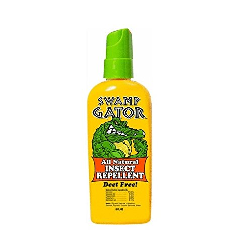 Swamp Gator, Natural Mosquitoe Repellent 6 Ounce (Pack of ()