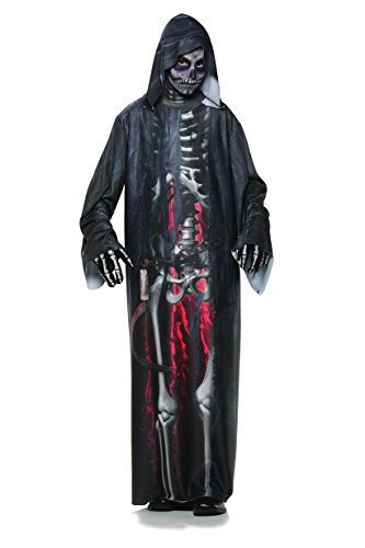 Underwraps Big Boy's Boy's Grim Reaper Costume, Photo Real, Large Childrens Costume, Multi, Large
