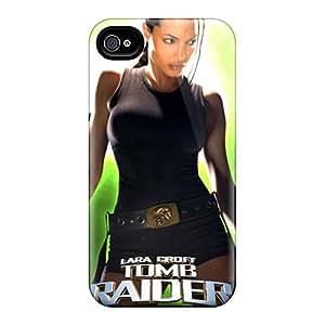 RitaSokul Iphone 4/4s Shock Absorbent Hard Phone Cases Provide Private Custom High-definition Tomb Raider Series [bXh12662zbNc]