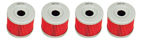 Outlaw Racing ORF131 Lot of 4 Performance Oil Filter SUZUKI DR125 HYOSUNG GT250R Replaces KN131