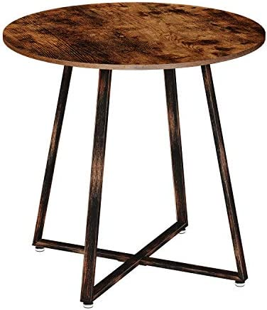 Rolanstar Dining Table Rustic Round Table