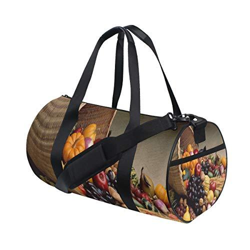 nalized Thanksgiving Card Duffel Bag Sport&Travel Lightweight for Men/Women ()