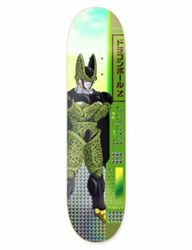 Primitive x Dragon Ball Z TUCKER CELL 8.0 Skateboard Deck by Primitive Skateboard