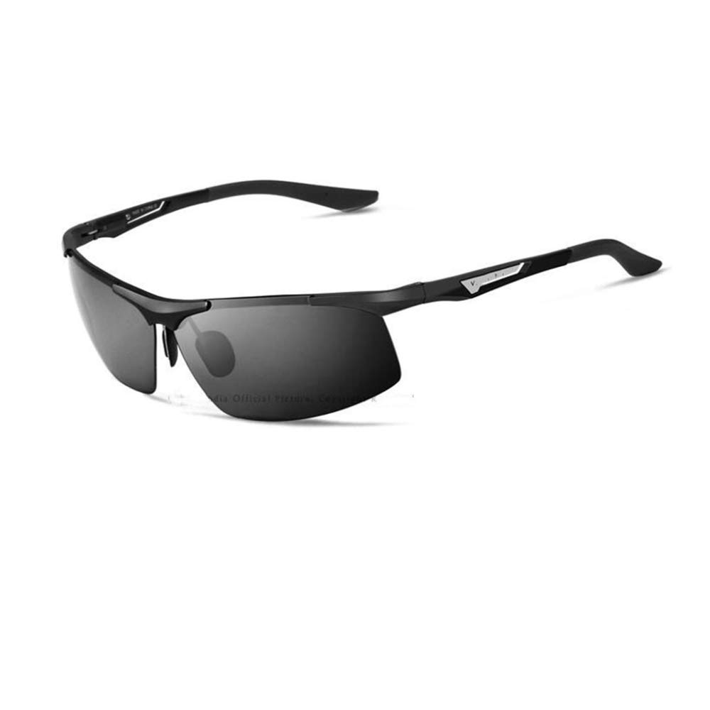 C Pink day Sunglasses Men AlMg color Film Polarizing Sunglasses Outdoor Sports Fishing Driver Special Polarizing Sunglasses