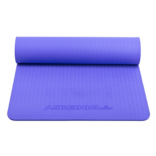 Pointsee ♥2Pcs Round Elbow Knee Pad Yoga Mat Fitness Plank Gym TPE Disc Protective Cushion Sports & Outdoors Purple Exercise Equipment Portable