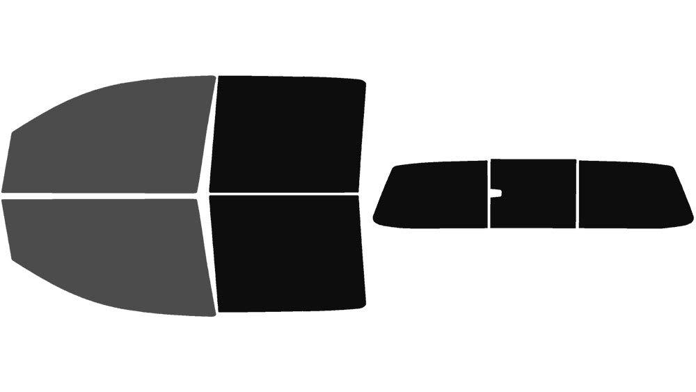 Automotive Window Film Includes: Front Windshield Visor precut in 5/% Precut Window Tint Kit Fits: 2004-2015 Nissan Titan Crew Cab Truck