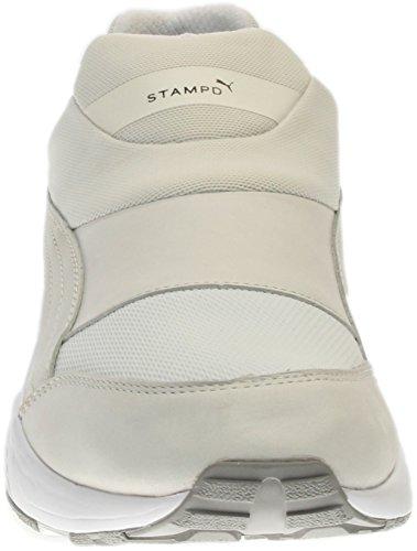 Puma Selezionare Uomo Stampo Trinomic Calzino Sneakers Stella Bianca