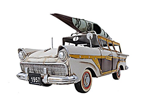 1957 Country Squire Woody Metal Model 13'' Automotive Decor by Nautical Home Decoration (Image #1)