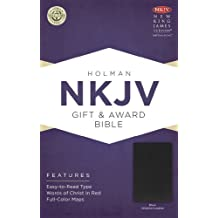 NKJV Gift and Award Bible, Black Imitation Leather