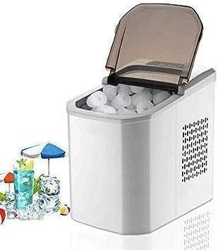 MWKLW Máquina de Hielo, fabricadores de Cubitos de Hielo, Cubos de encimera listos en Promedio 8-15 min con Apagado automático del Ciclo