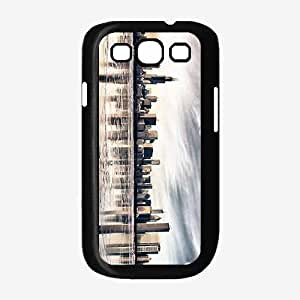 Chicago City View SILICONE Phone Case Back Cover Samsung Galaxy S3 I9300