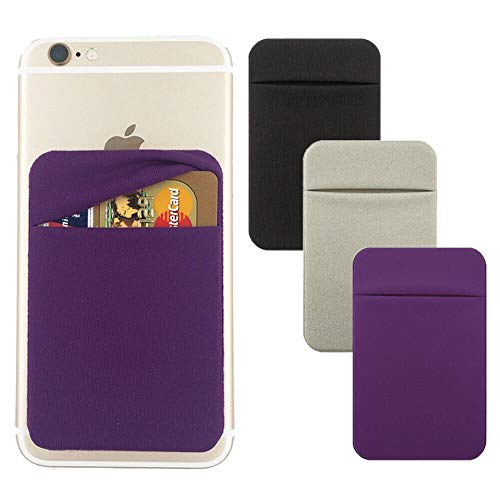 Holder Sticker Stretchy Android Smartphones Purple product image