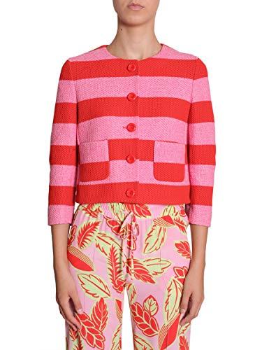 Boutique J050708151129 Rosa Giacca Moschino Cotone Donna wnffqCFSxA