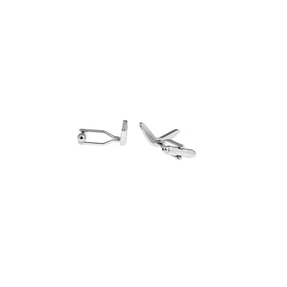 Mancuernas de la estrella con mancuernas de Boomerang caja de la mancuerna de la marca: Amazon.es: Joyería