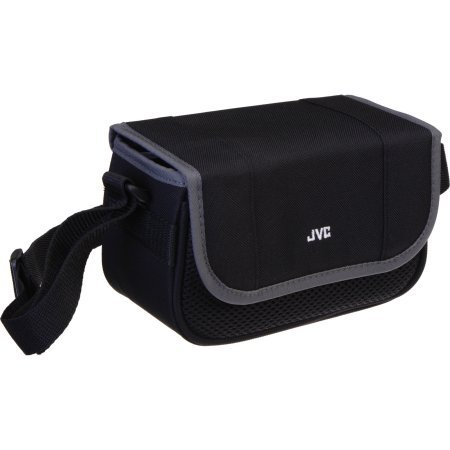 JVC Carrying Case for Camcorder / Small Camera, Black/Gray #CBV1008US