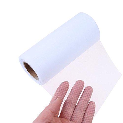 Shenglong 6 Inch x 100 Yards (300FT) Tulle Roll Spool (Gauze Ribbon)