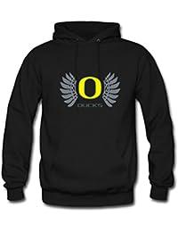 unisex Men's and Women's Personalized Custom Oregon Ducks Classic Hoodie