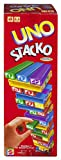 Mattel Games UNO StackoGame for Kids and Family with 45 Colored Stacking Blocks, Loading Tray and Instructions, Makes a Great Gift for 7 Year Olds and Up (43535)