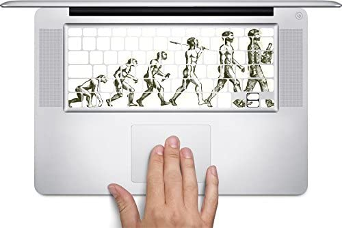 Evolution Keyboard Decals by Sorem Designs for 11 inch MacBook Air