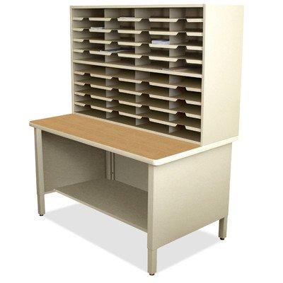 Mailroom 40 Slot Organizer Finish: Putty