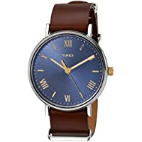 Men's TW2R28700 Southview 41 Brown/Blue Leather Strap Watch