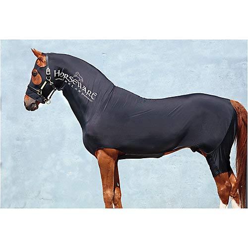 Rambo Slinky M Black (Lycra Full Body Medium Horse)